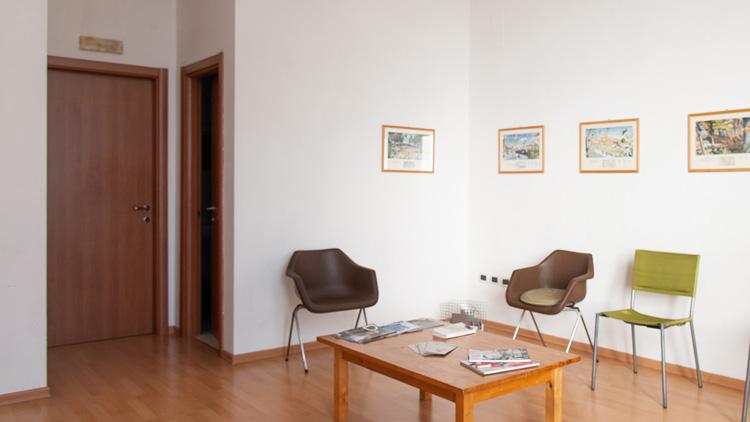 Foto dello studio di Massimo Valente a