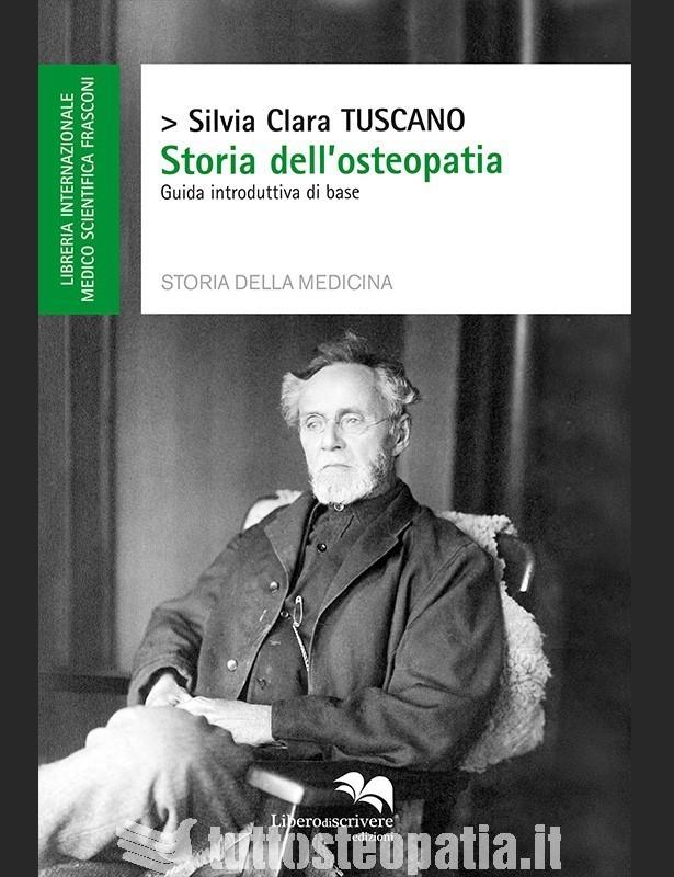 Copertina libro Storia dell'osteopatia di Silvia Clara Tuscano