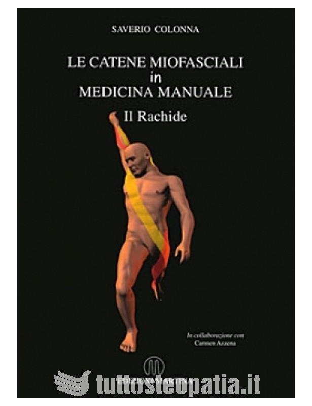 Copertina libro Le catene miofasciali in medicina manuale –  il rachide di Saverio Colonna
