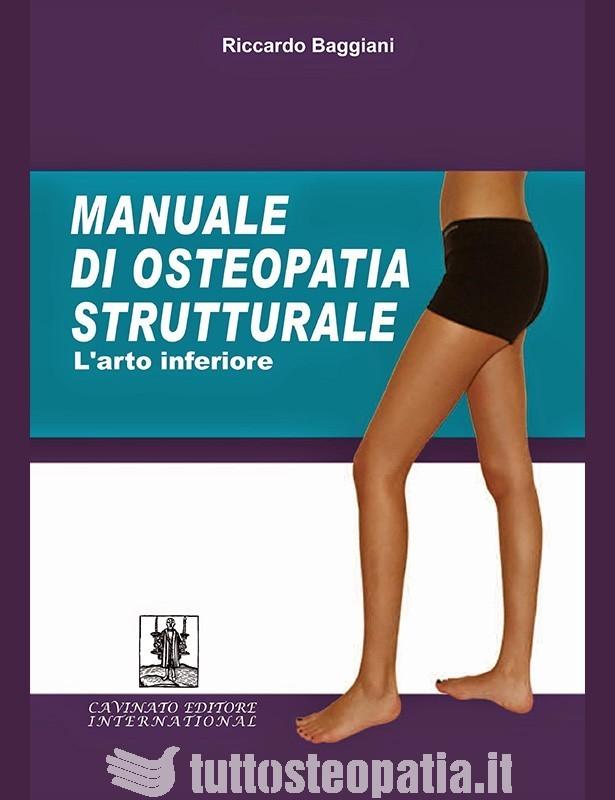Copertina libro Manuale di Osteopatia Strutturale – L'arto inferiore di Riccardo Baggiani