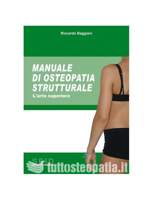 Copertina libro Manuale di Osteopatia Strutturale – L'arto superiore di Riccardo Baggiani
