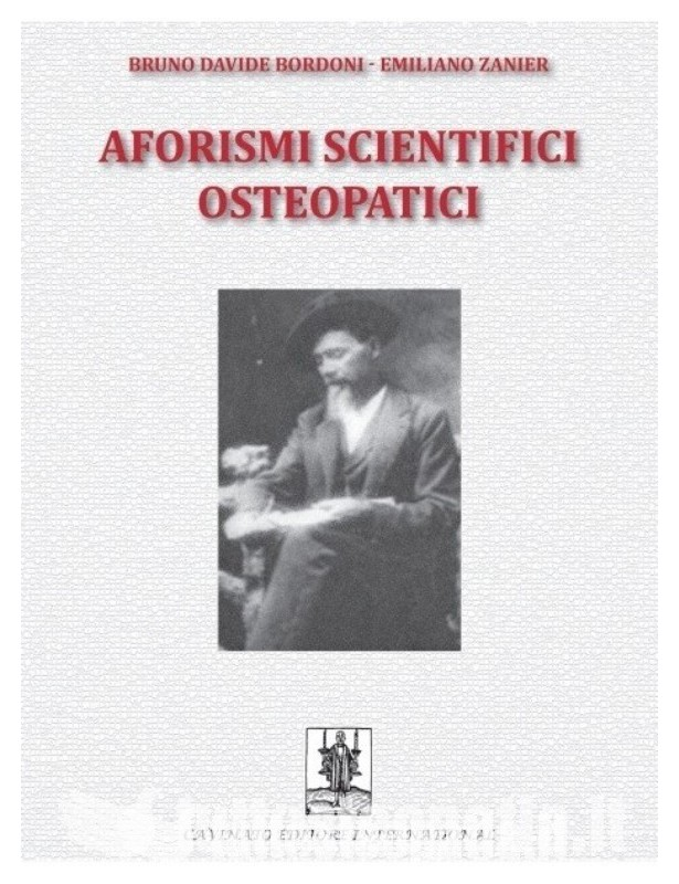 Copertina libro Aforismi scientifici osteopatici di Bruno Bordoni