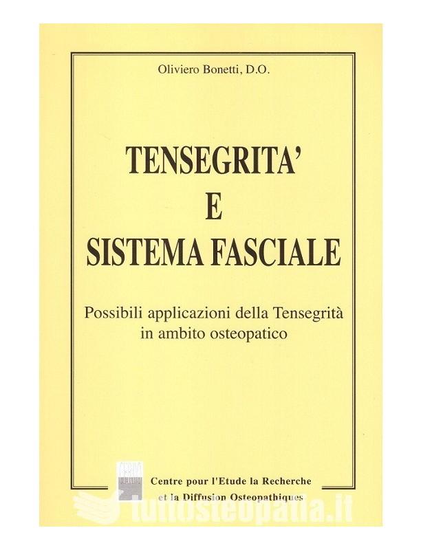 Copertina libro Tensegrità e sistema fasciale di Oliviero Bonetti