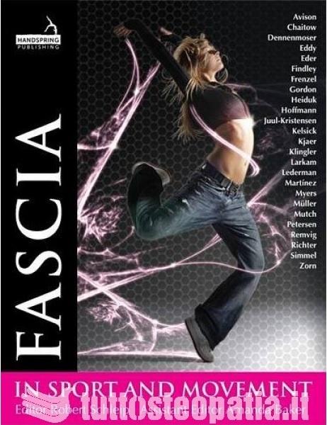Copertina libro Fascia in Sport and Movement di Adriana Tuttosteopatia