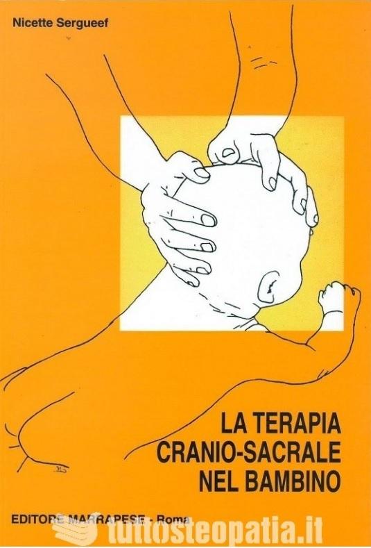 Copertina libro La terapia cranio sacrale nel bambino di Adriana Tuttosteopatia