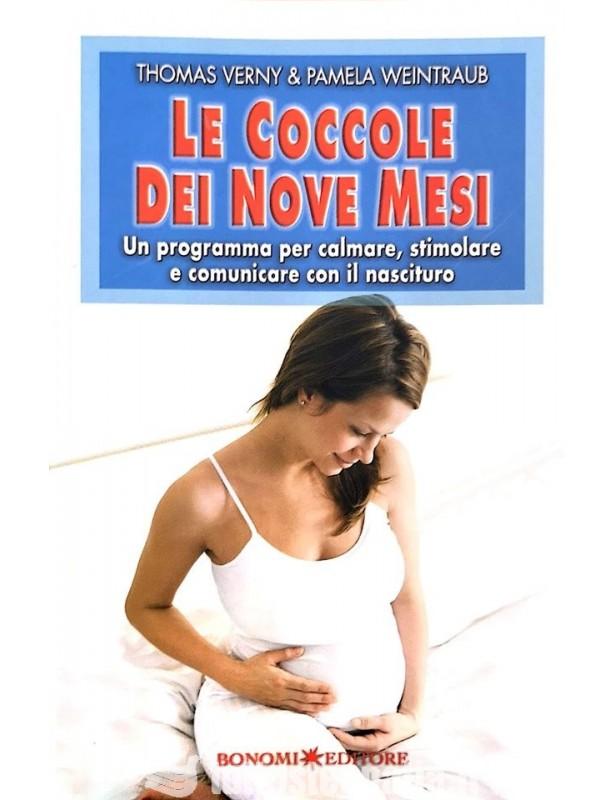 Copertina libro Le coccole dei nove mesi di Adriana Tuttosteopatia