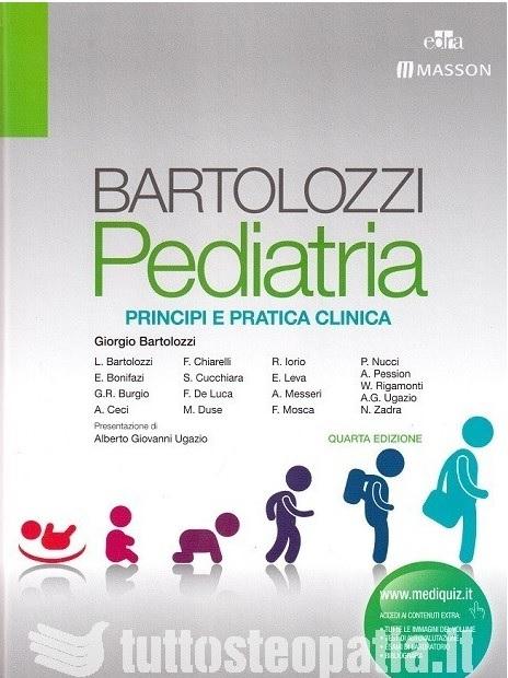 Copertina libro Pediatria – Principi e pratica clinica di Adriana Tuttosteopatia