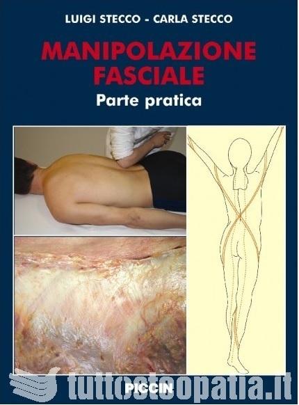 Copertina libro Manipolazione fasciale – parte pratica di Adriana Tuttosteopatia