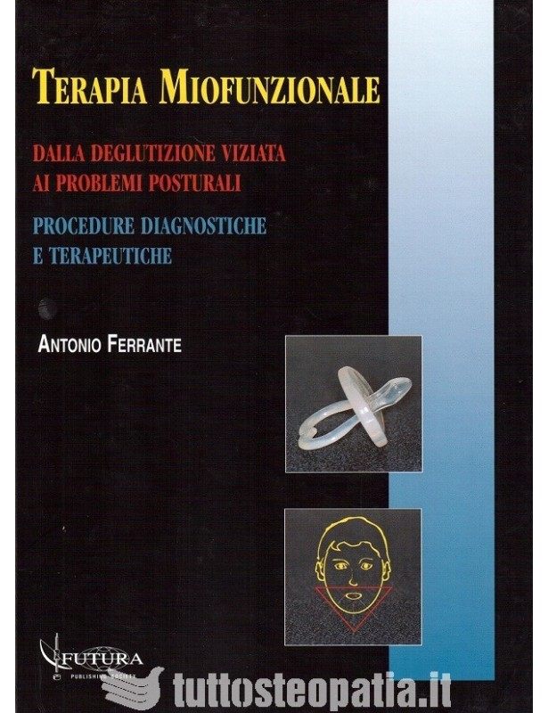 Copertina libro Terapia Miofunzionale di Adriana Tuttosteopatia
