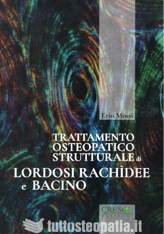 Copertina libro Trattamento osteopatico strutturale di lordosi rachidee e bacino di Adriana Tuttosteopatia