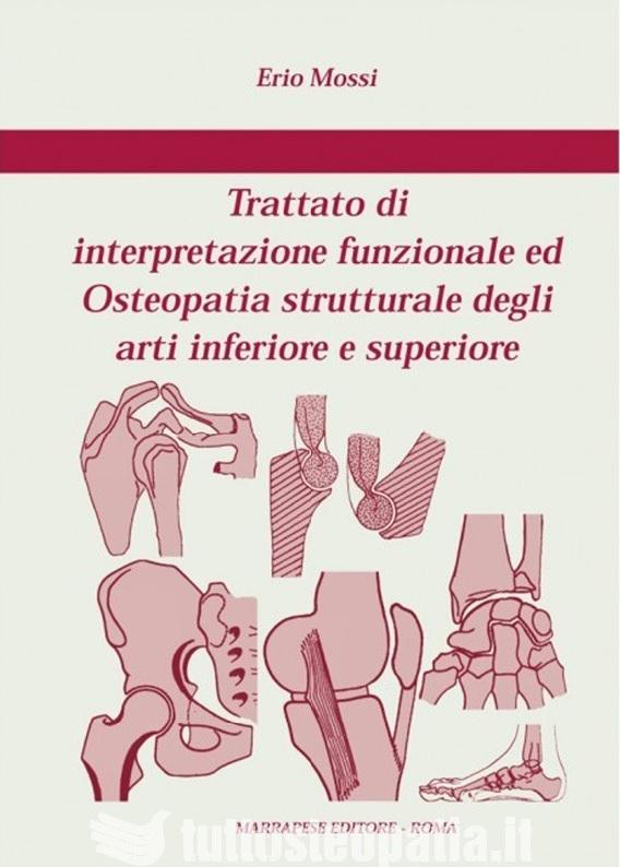 Copertina libro Trattato di interpretazione funzionale ed Osteopatia strutturale degli arti inferiore e superiore di Adriana Tuttosteopatia