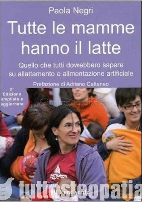 Copertina libro Tutte le mamme hanno il latte di Adriana Tuttosteopatia