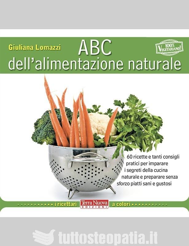 Copertina libro ABC dell'alimentazione naturale di Adriana Tuttosteopatia