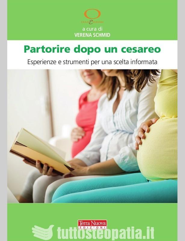 Copertina libro Partorire dopo un cesareo di Adriana Tuttosteopatia
