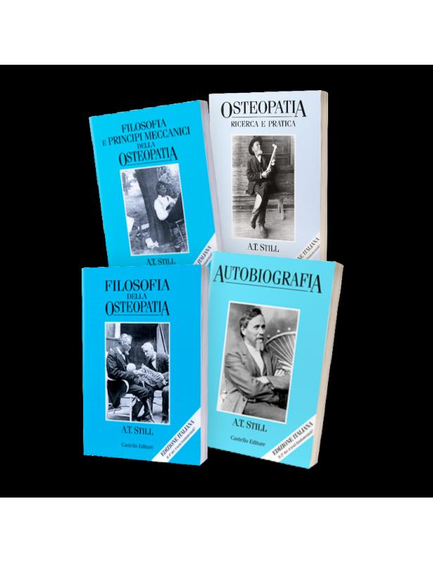 Copertina libro I libri di A. T. Still sulla Storia dell'Osteopatia di Adriana Tuttosteopatia