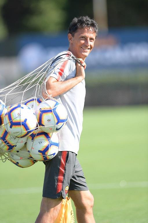 Marco Savorani preparatore dei portieri AS Roma (foto Luciano Rossi)