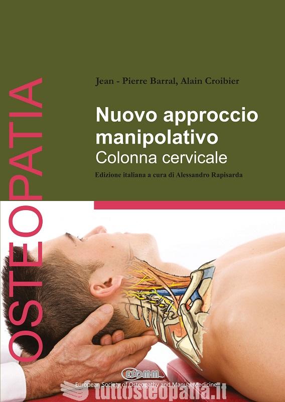 Copertina libro Nuovo approccio manipolativo. Colonna cervicale di Adriana Tuttosteopatia