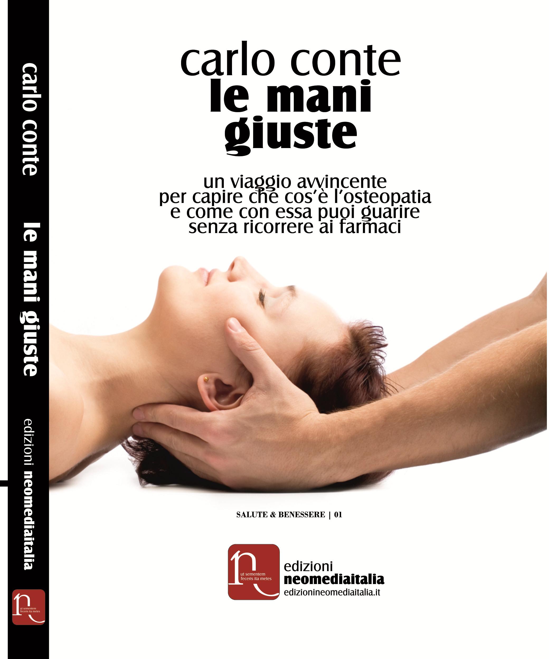Copertina libro Le mani giuste di Carlo Conte