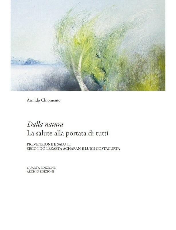 Copertina libro Dalla natura La salute alla portata di tutti di Adriana Tuttosteopatia