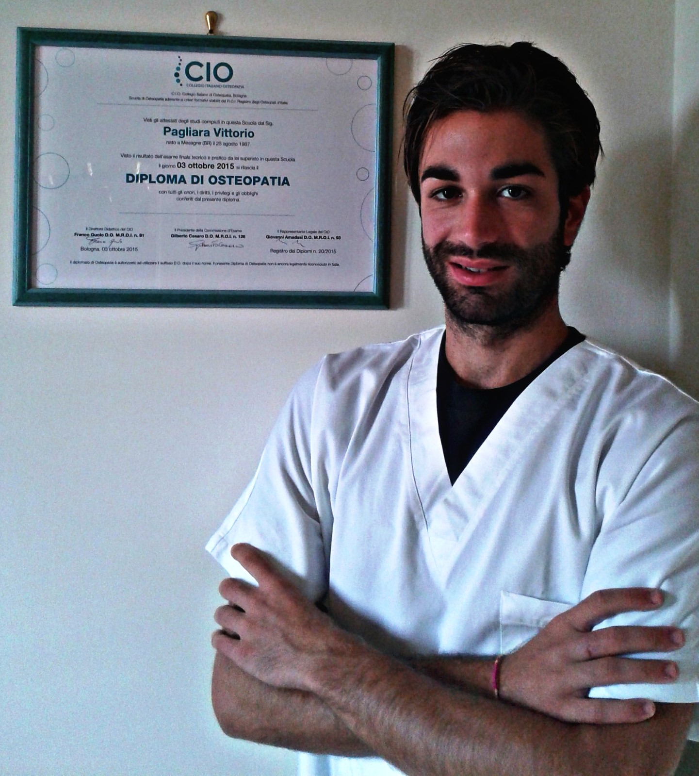 Osteopata Vittorio Pagliara