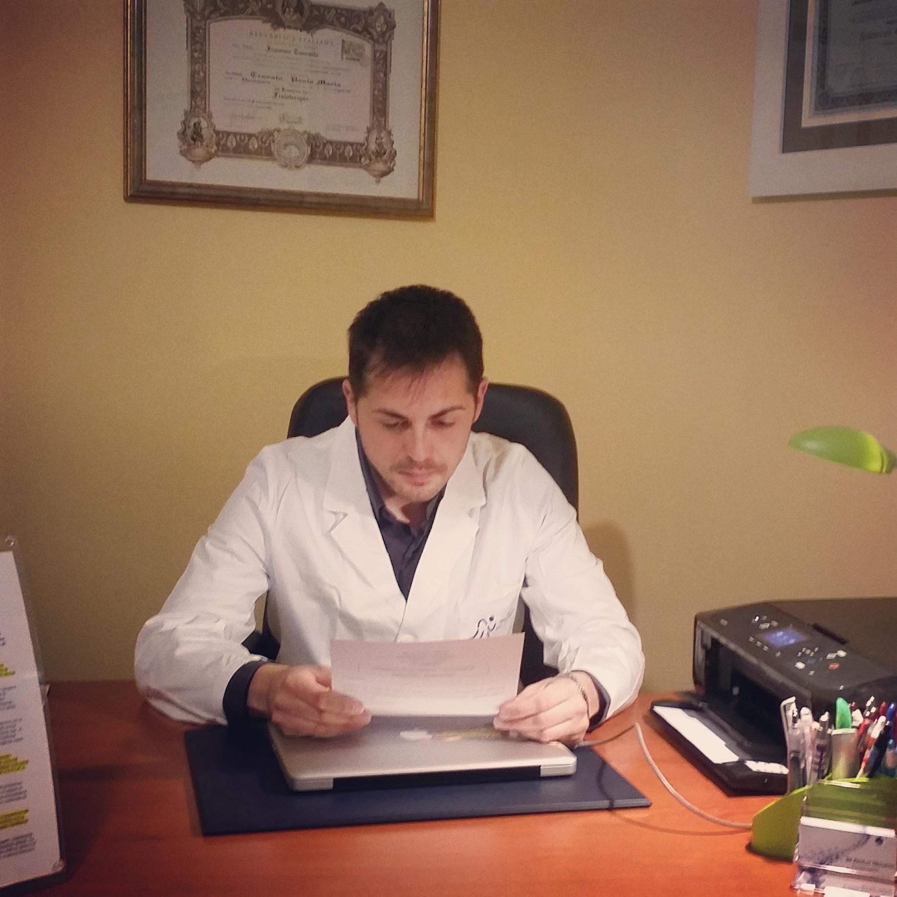 Osteopata Paolo Maria Trovato