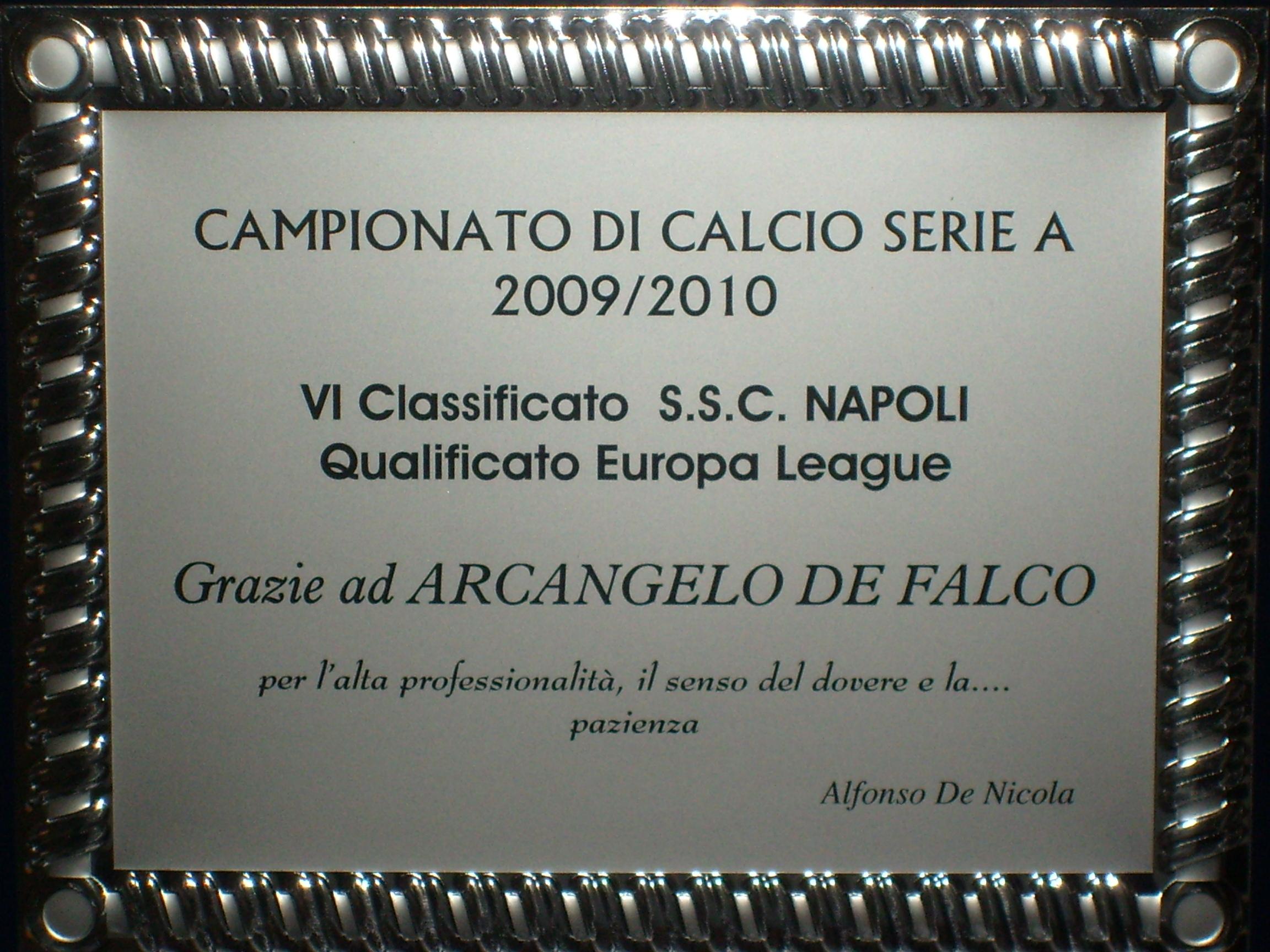 Osteopata Arcangelo De Falco