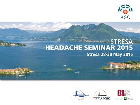 Approvati 3 studi del CSOT allo Stresa Headache Seminar 2015